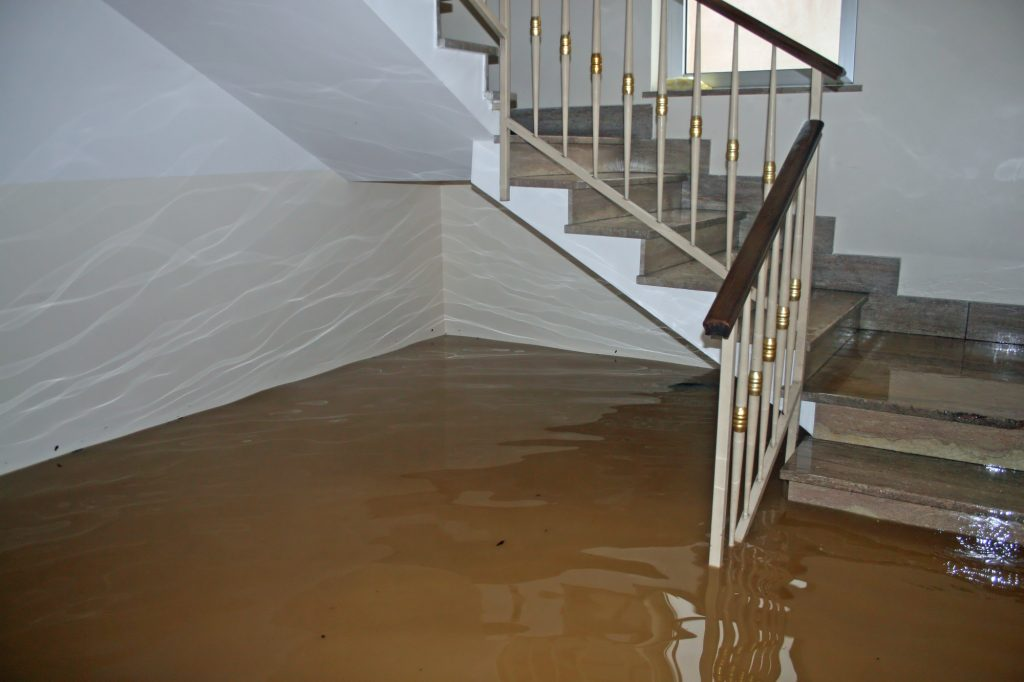 bad water heater floods your house
